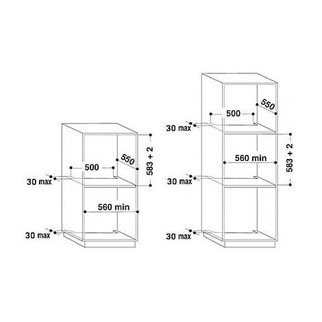 Forno elettrico AKZM8410IX classe A+ 73 litri