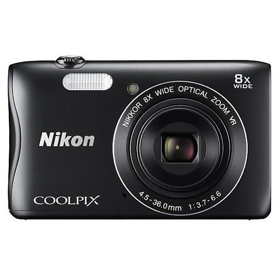 Fotocamera digitale coolpix s3700 black