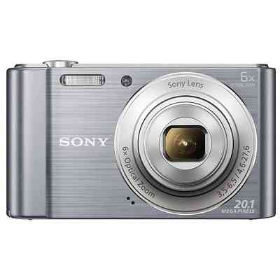 SONY Fotocamera digitale dsc w810 20mp silver