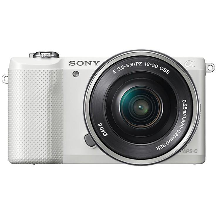 Fotocamera Digitale Mirrorless Ilce5000lb Aps-C 20.1mp Bianca