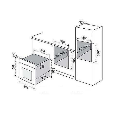 fq-73ixev electrolux forno da incasso classe a inox