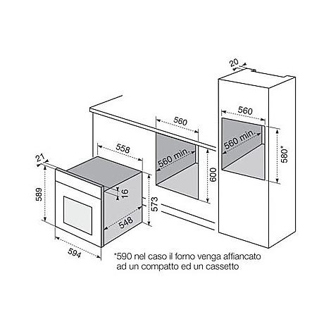 fq-75xev electrolux forno da incasso classe a inox