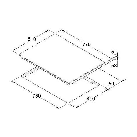 Franke 9010018 FHBP 7704 4I T PWL XS Piano cottura a induzione 80 cm ...