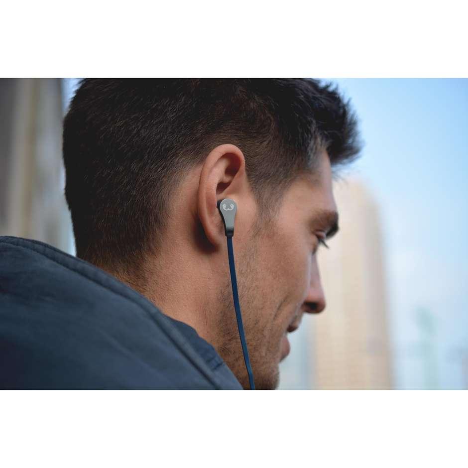 Fresh'n Rebel Lace Earbuds Auricolari cablati con microfono colore blu