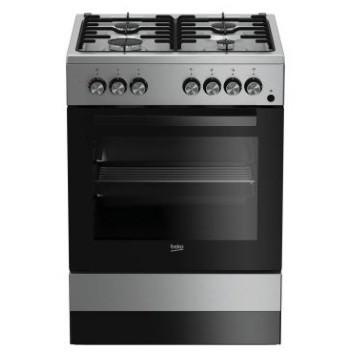 cucine a gas, cucina elettrica - clickforshop - Cucina 4 Fuochi Forno Elettrico