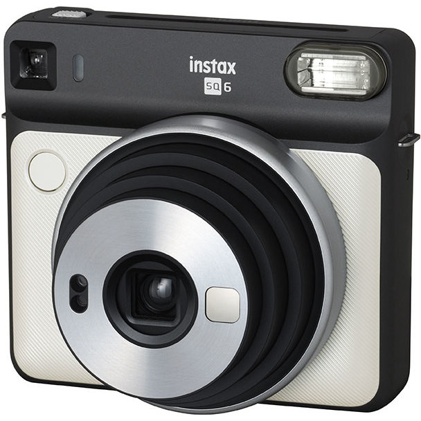Fujifilm Instax SQUARE SQ6 fotocamera a stampa istantanea colore bianco perla
