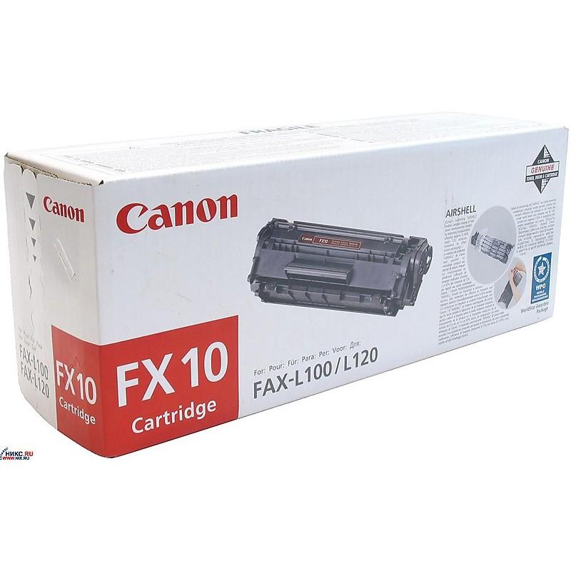 fx-10 toner nero l100/l120