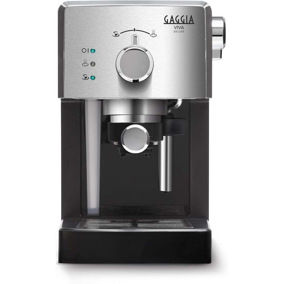 Gaggia Viva RI8435/11 Macchina del caffè espresso manuale 2 tazze 15  bar colore Argento,Nero