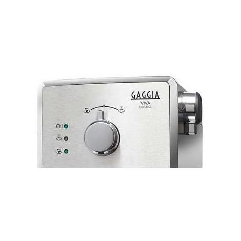 Gaggia Viva RI8437/11 Macchina da caffè manuale 950 Watt serbatoio 1,25 L colore inox