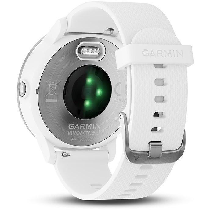 Garmin Vivoactive 3 (Large) Smartwatch 1.2 pollici Bluetooth Bianco