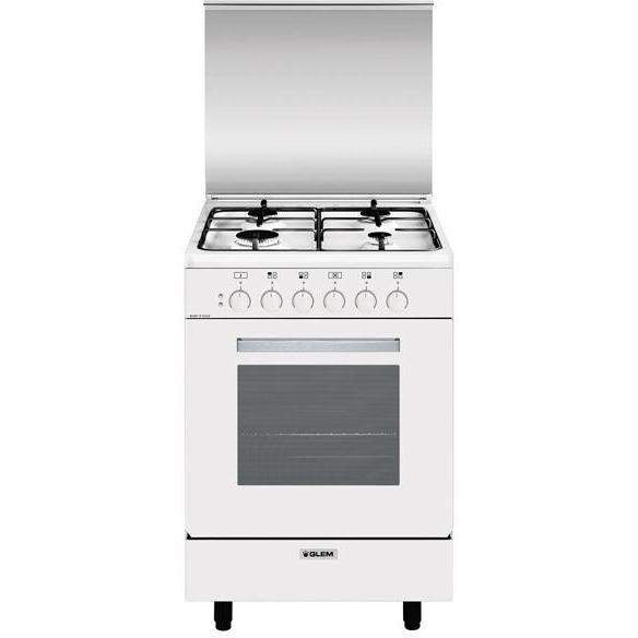Glem Gas A554mx6 Cucina 50x50 4 Fuochi Gas Forno Elettrico Ventilato 54 Litri Classe A Colore Bianco Cucine Cucina 4 Fuochi Clickforshop