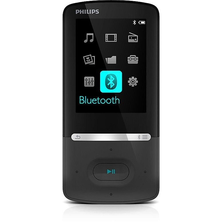 gogear azure 8gb lett.mp3 bluetooth