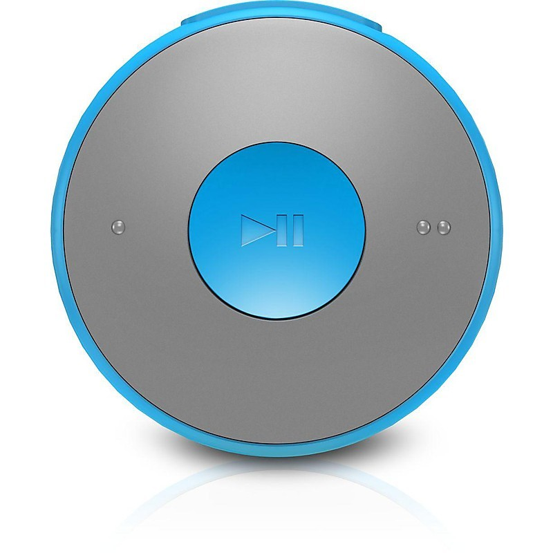 gogear minidot lettore mp3 blu
