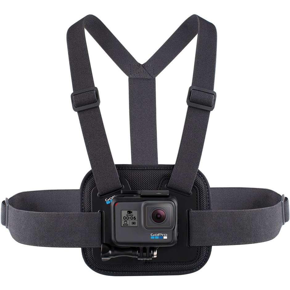 GoPro AGCHM-001 Chesty pettorina elastica compatibile con tutte le fotocamere serie Hero