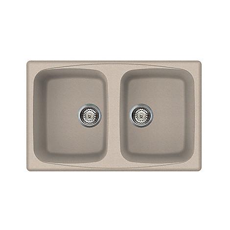 granitek master 350 elleci lavello 2 vasche 79x50