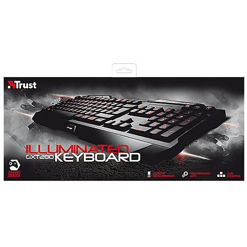 gxt280 illuminated gaming keyboard trust