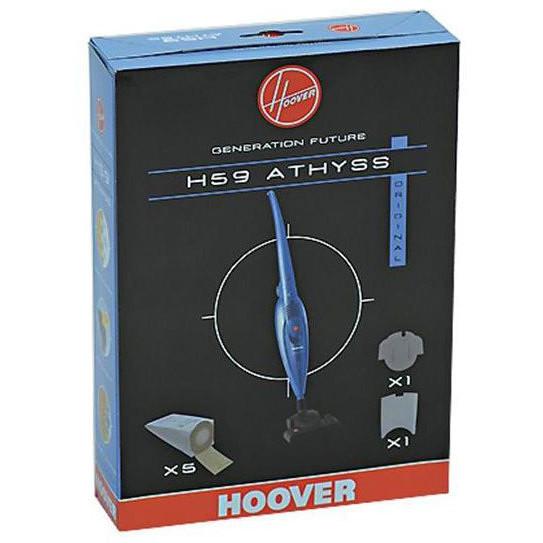 h-59 hoover sacchetti per aspirapolvere