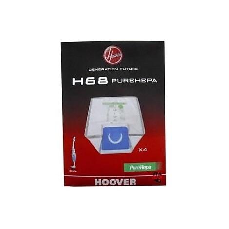 h-68 sacchetti per aspirapolvere hoover