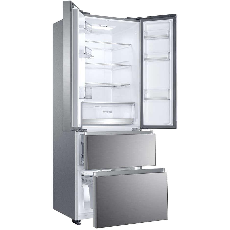 Haier HB16FMAAA frigorifero combinato 424 litri classe A++ Total No Frost colore inox