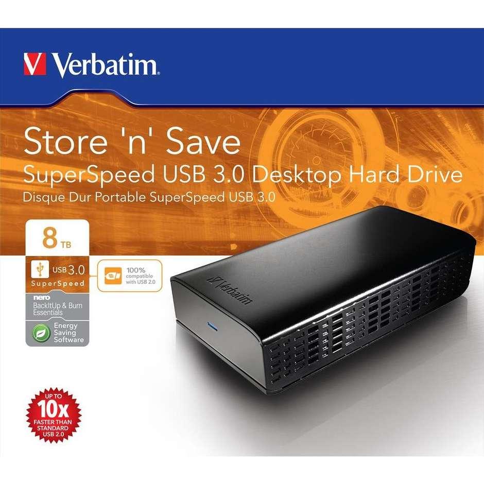 hard disk esterno-8.tb- 3.5 usb 3.0