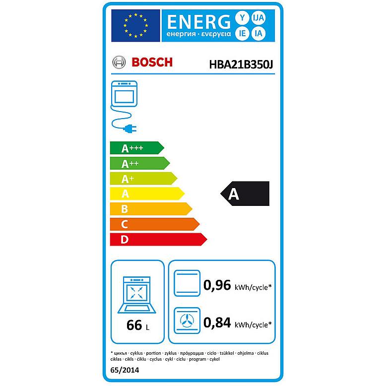 hba-21b350j bosch forno classe a-20% inox