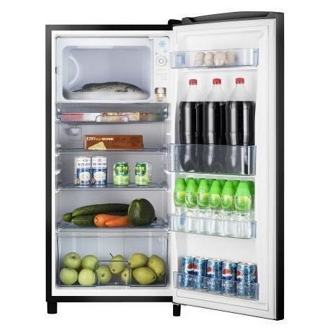Hisense RR195D4DB1 frigorifero 1porta 150 litri statico classe A+ nero