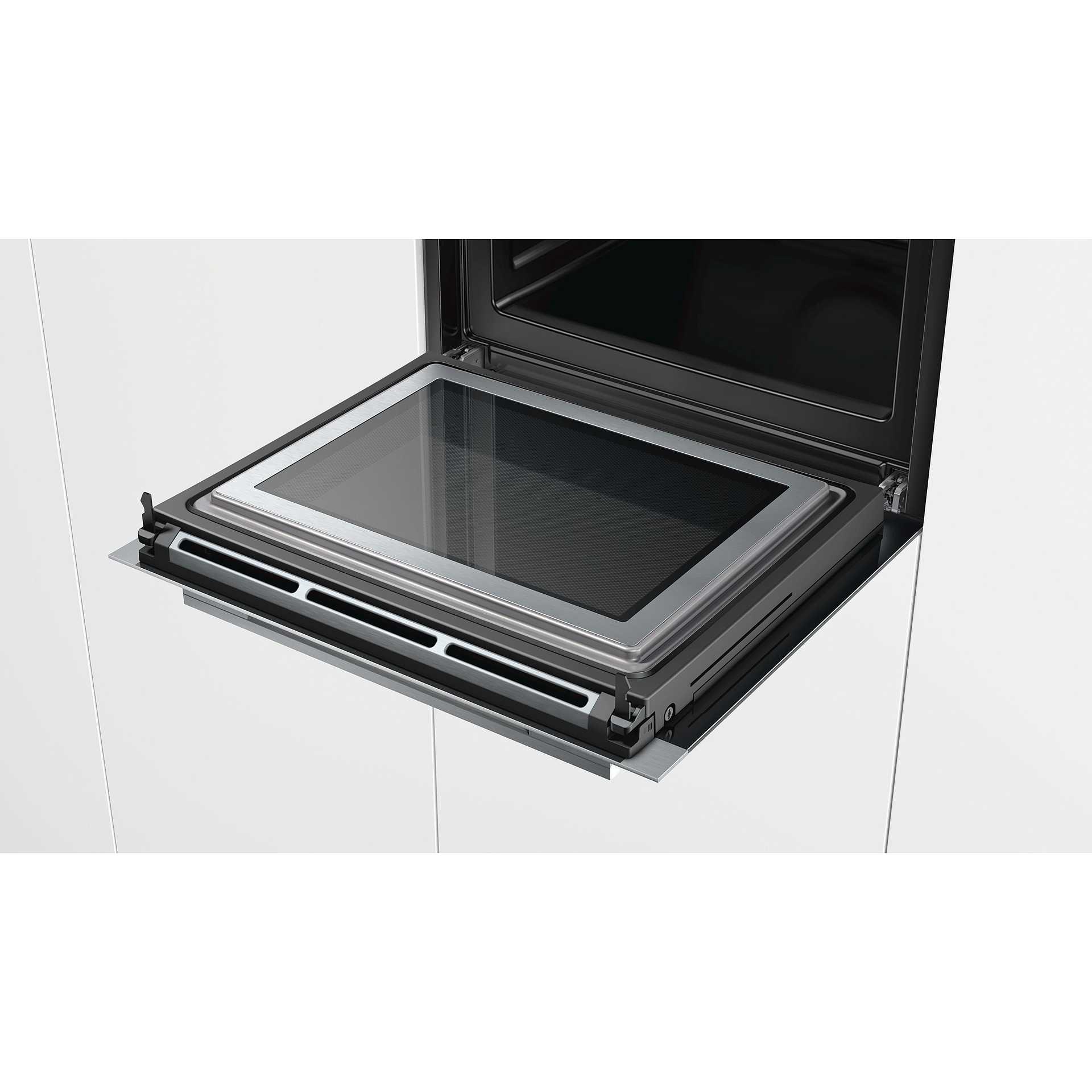 Hm633gns1 siemens forno da incasso combinato a microonde for Forno combinato da incasso