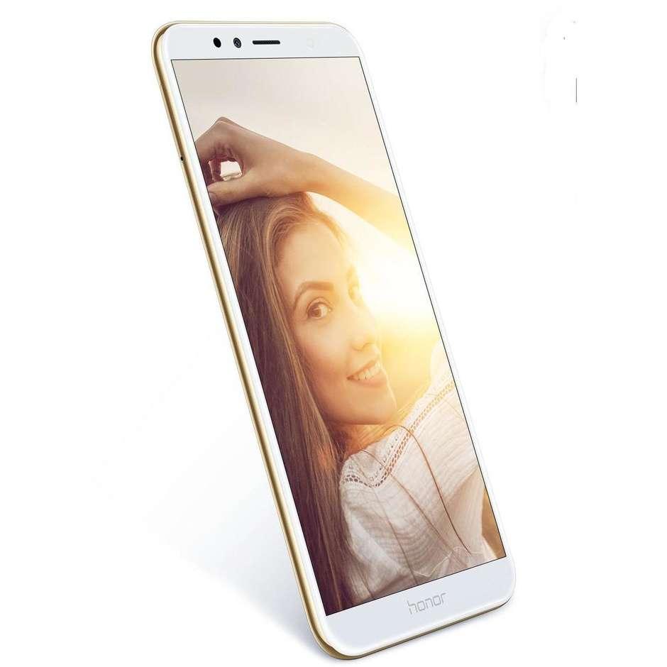 """Honor 7A TIM Smartphone 5,7"""" HD Dual Sim memoria 16 GB Fotocamera 13 MP Android 8.0 colore Oro"""