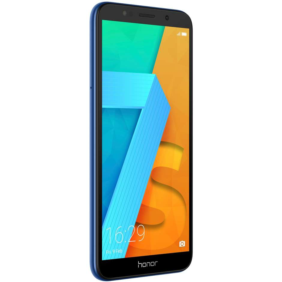 "Honor 7S Smartphone Android Display 5.45"" Quad-Core 1.5 Ghz Ram 2GB Rom 16GB Colore Blu"