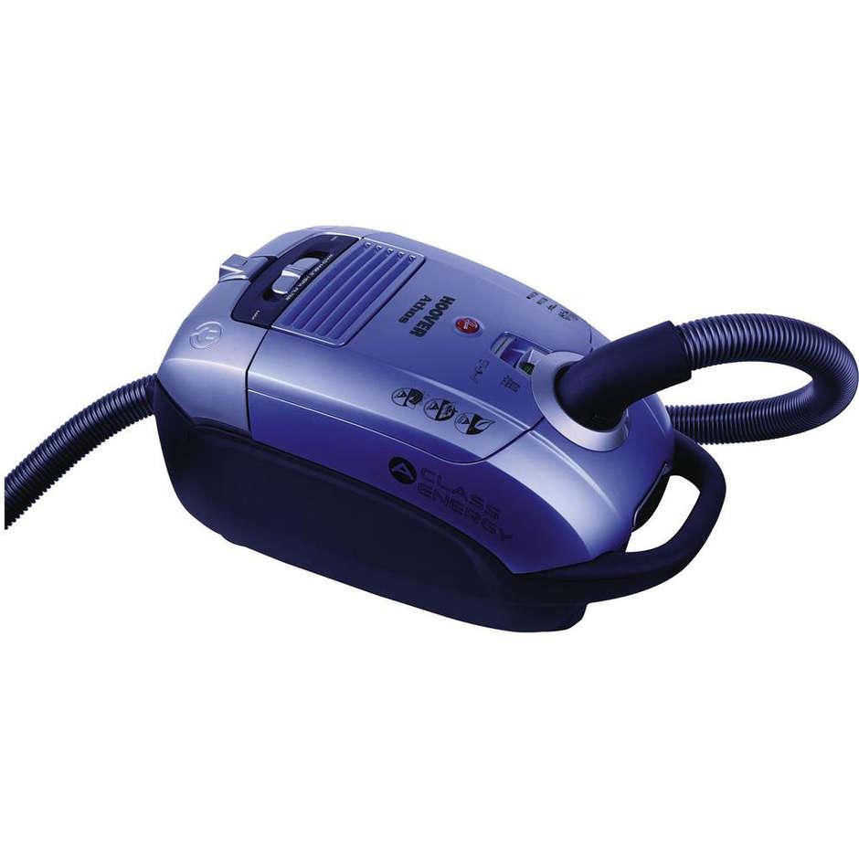 Hoover AT70_AT30011 Athos aspirapolvere a traino con sacco 700 Watt classe A colore blu