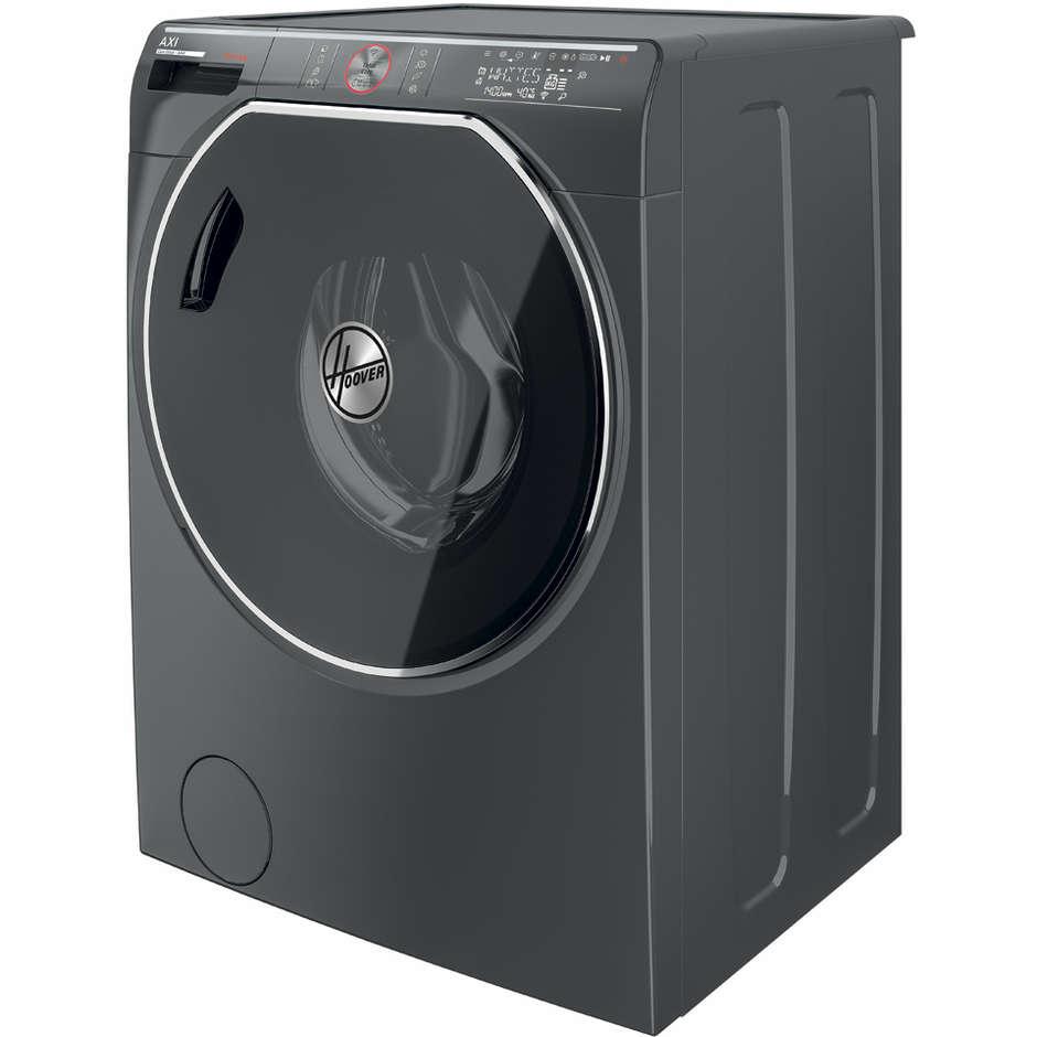 Hoover AWDPD4138LHR/1-S lavasciuga 13+8 Kg 1400 giri classe A Wifi Bluetooth colore antracite