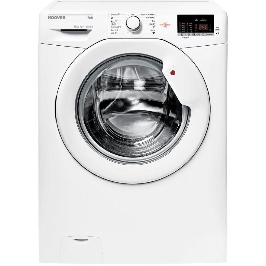 Hoover HL14102D3-S lavatrice carica frontale 10 Kg 1400 giri classe A+++ colore bianco