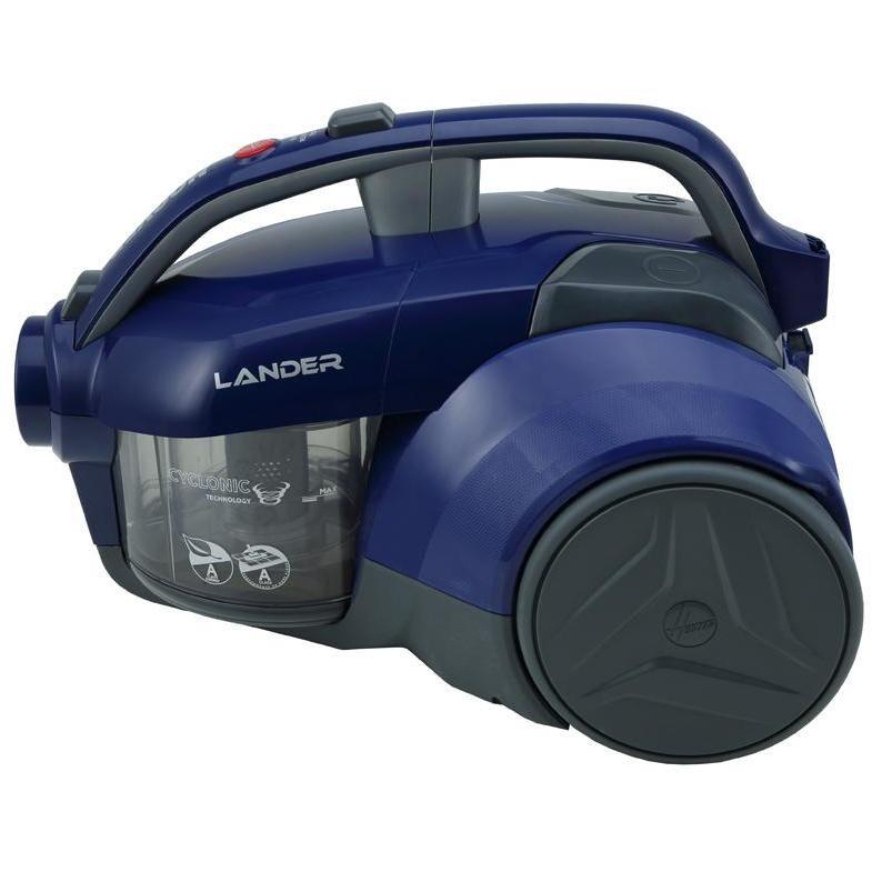 Hoover LA71_LA20011 Lander aspirapolvere a traino senza sacco 700 Watt Classe A colore Blu