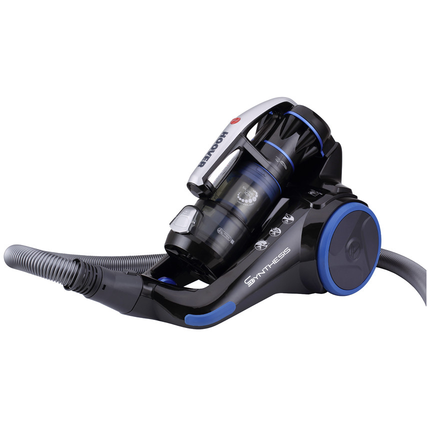 Hoover ST71_ST10011 Synthesis aspirapolvere a traino senza sacco 700 Watt classe A colore blu e nero