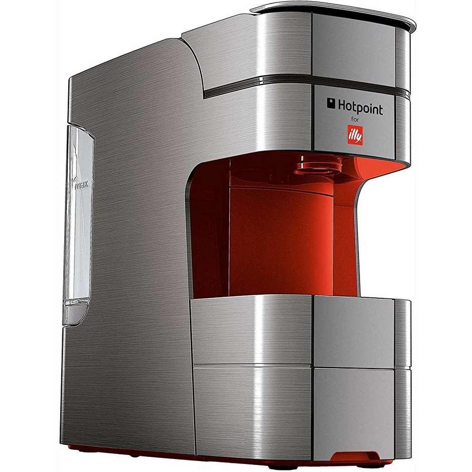 Hotpoint/Ariston CM-HPC GB0 H Macchina del caffè a capsule 19 Bar 1250 W colore Rosso,Grigio