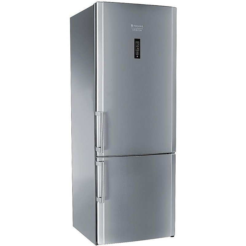 Hotpoint/Ariston E2BYH19323FO3 frigorifero combinato 433 litri classe A++ NoFrost colore acciaio inox