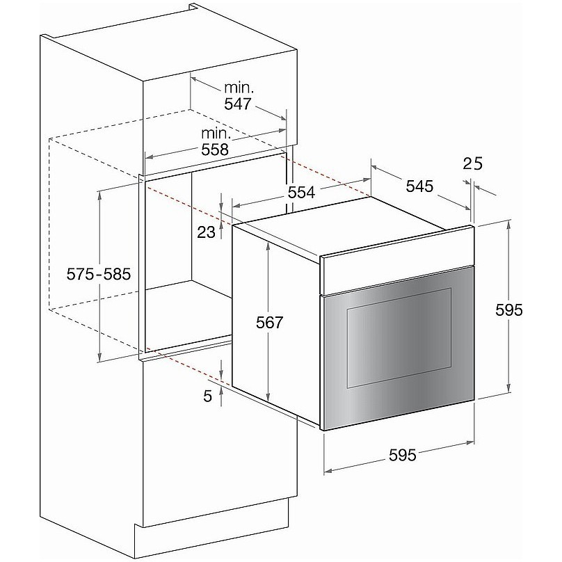 Hotpoint ariston ft 820 1 ix ha s forno elettrico - Forno elettrico da incasso ariston ...