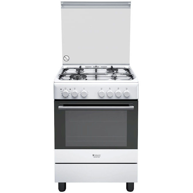 Hotpoint Ariston H6tmh2af W It Cucina 60x60 4 Fuochi A