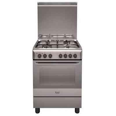 Hotpoint ariston h6imaac x cucina 60x60 4 piastre a - Cucine ariston forno elettrico ...