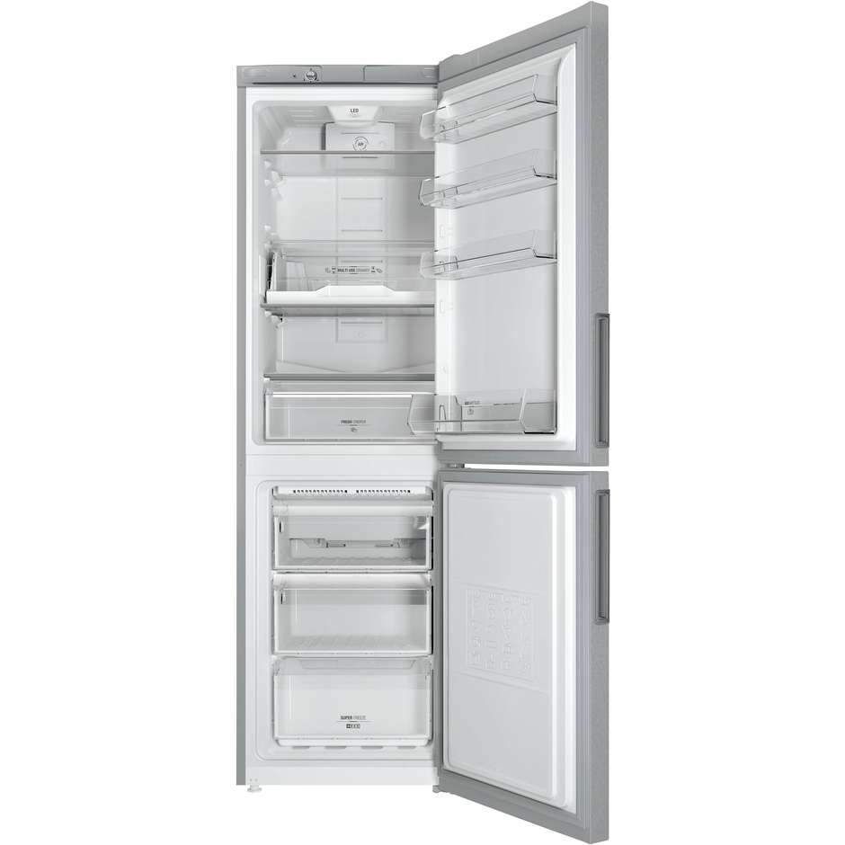 Hotpoint/Ariston LH8 FF2O A frigorifero combinato 305 litri classe A++ ventilato inox
