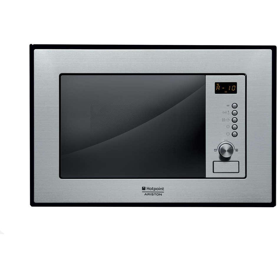 Hotpoint ariston mwa 121 1 x ha forno a microonde da incasso 20 litri 800 watt colore inox - Forno microonde incasso ariston ...