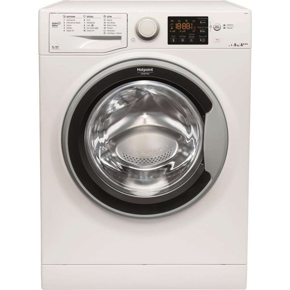 Hotpoint/Ariston RSG 823 S IT lavatrice carica frontale 8 Kg 1200 giri classe A+++-20%