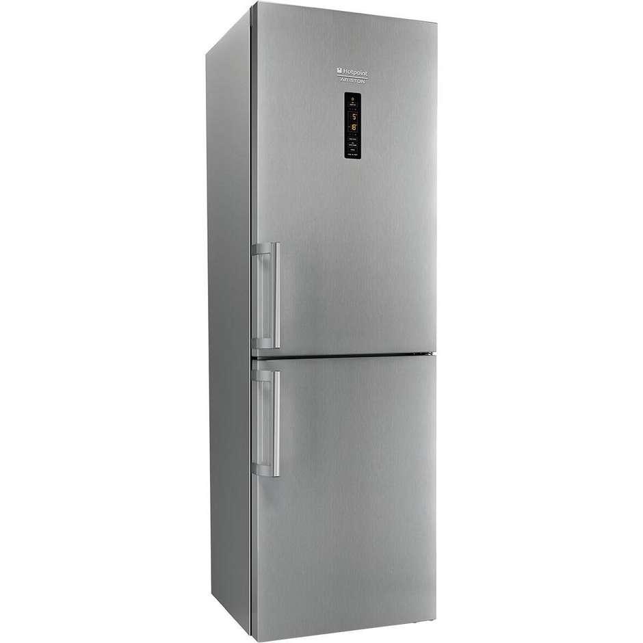 Hotpoint/Ariston XH8 T3Z XOZH frigorifero combinato 340 litri classe A+++ Total No Frost inox
