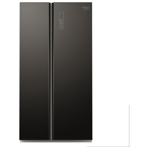 Hotpoint SXBHAE-925 Frigorifero Side By Side Classe A+ Capacità 510 LT No Frost Colore Nero