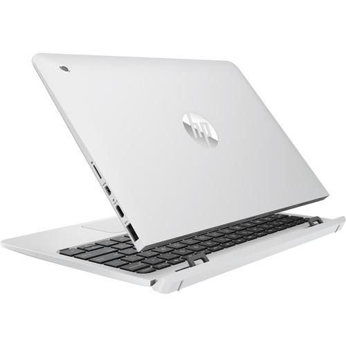 "HP 10-P030NL Notebook 10.1"" 2 in 1 Windows 10 Home Touch Screen Ram/ Rom 4/ 128 GB WiFi Bluetooth Colore Bianco"