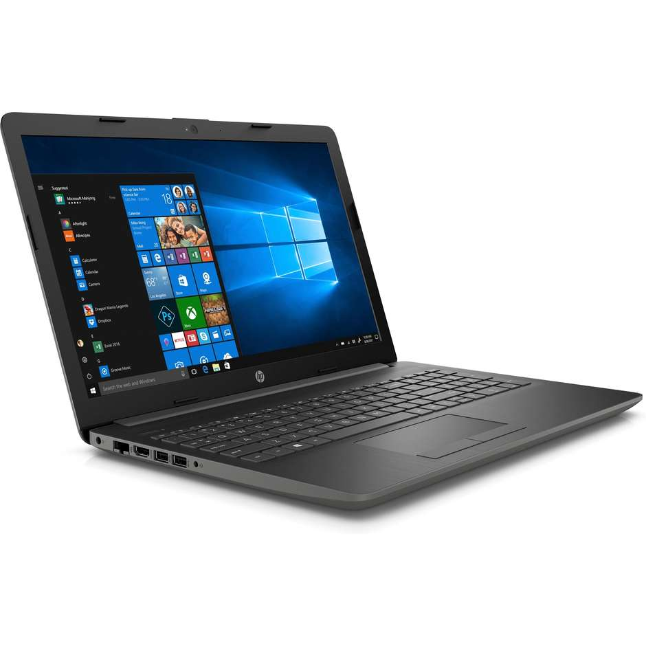 """HP 15-DB0003NL Notebook 15,6"""" AMD E2-9000e Ram 4 GB HDD 500 GB colore Nero"""