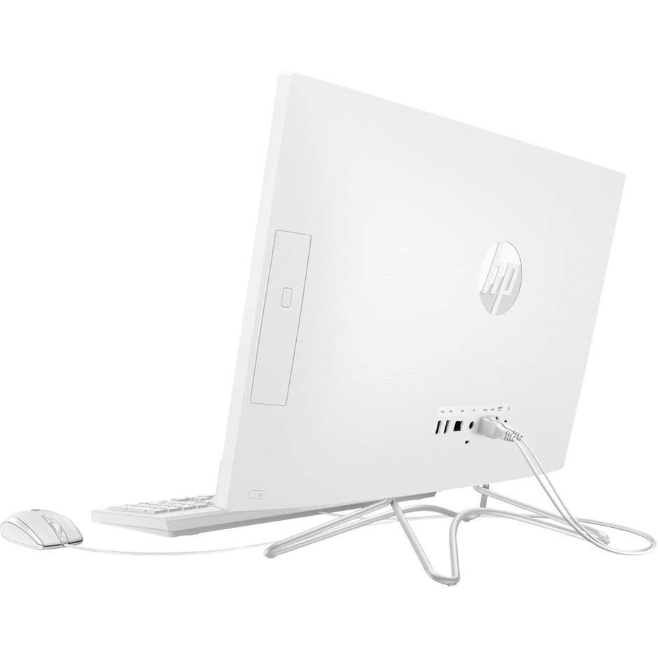 HP 24-F0018NL PC All in One Intel Core i5-8250U Ram 8 GB HDD 1000 GB Wifi Windows 10 colore Bianco