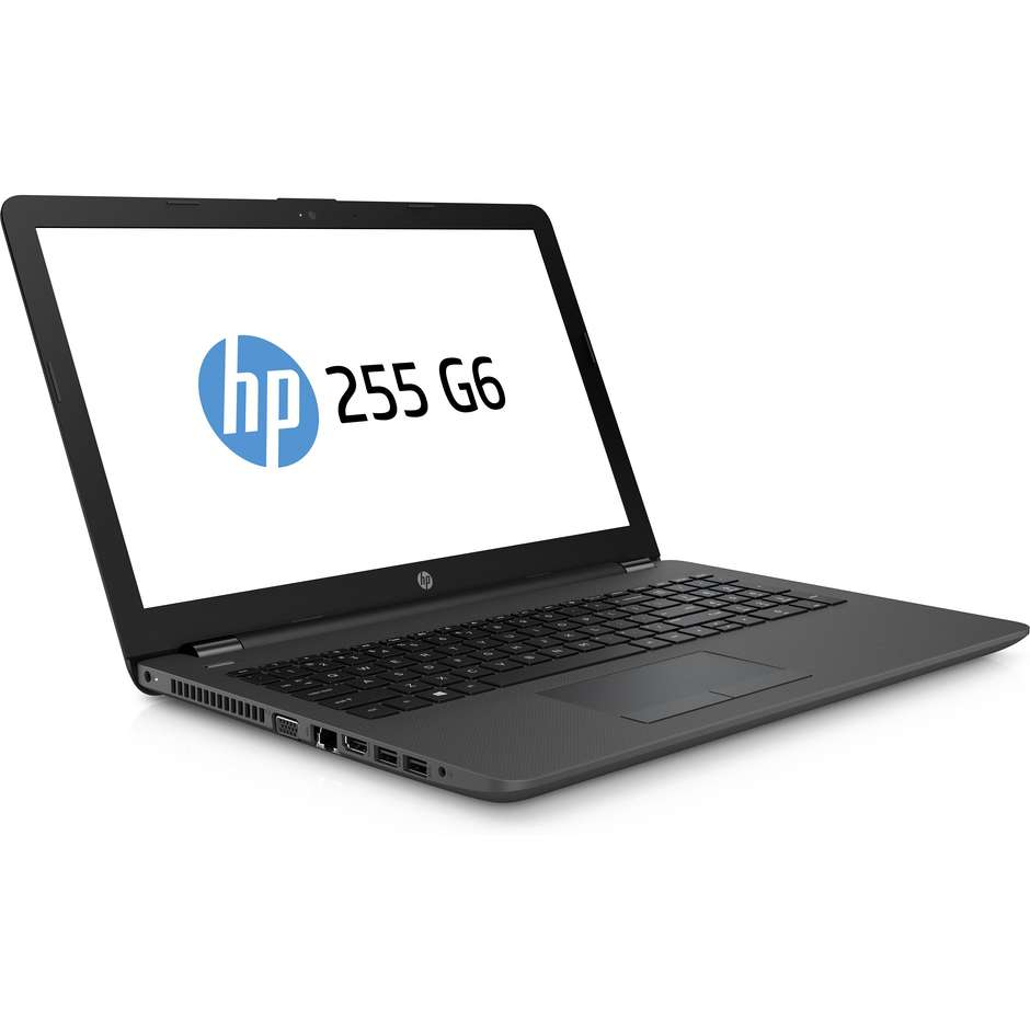 "HP 255 G6 Notebook 15,6"" AMD E2-9000e Ram 4 GB HDD 500 GB FreeDos colore Nero"