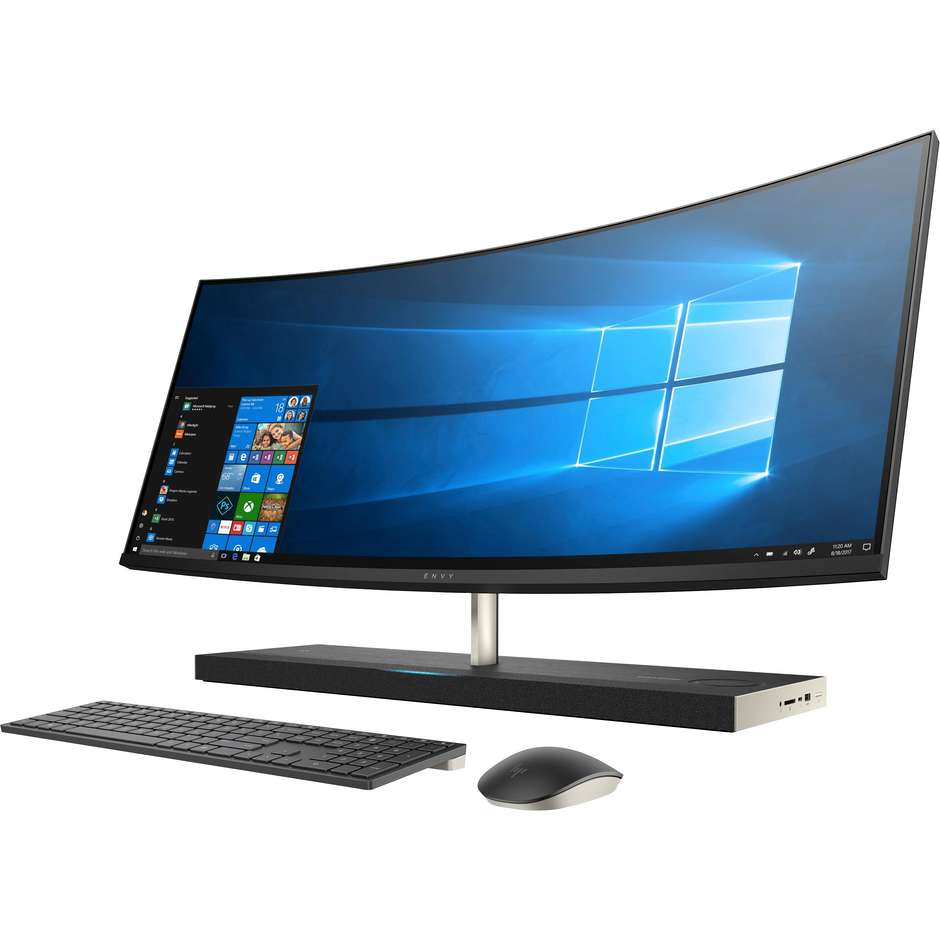 "Hp 34-B100NL ENVY Curved Pc All In One Monitor 34"" Intel Core i7 Ram 16 GB HDD+SSD 1256 GB Windows 10 Home"