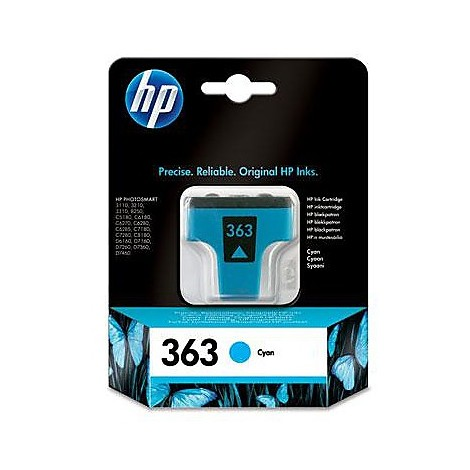 hp 363 cyan ink cartridge bl